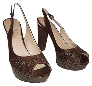 Marc Fisher Brown Platforms