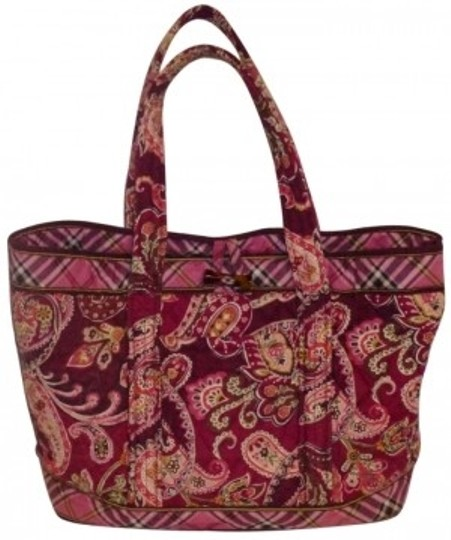 Preload https://item4.tradesy.com/images/vera-bradley-pink-cotton-tote-135963-0-0.jpg?width=440&height=440