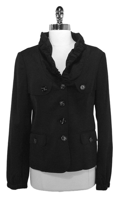 Preload https://item1.tradesy.com/images/burberry-black-ruched-collar-wool-size-8-m-1359645-0-0.jpg?width=400&height=650