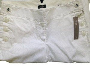 Ann Taylor LOFT Anchor Straight Pants White