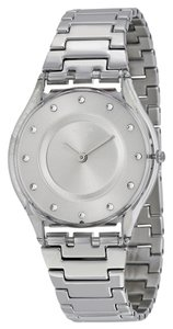 Swatch Swatch SFK393G Women's grey Analog watch With Silver Dial