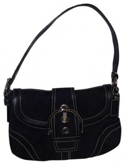 Preload https://item3.tradesy.com/images/coach-black-signature-hobo-bag-135972-0-0.jpg?width=440&height=440