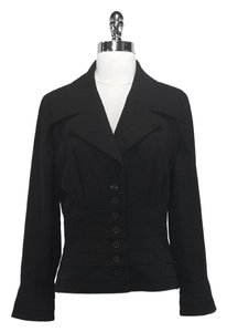 Karl Lagerfeld Wool Black Jacket