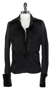 Just Cavalli Cotton Black/Grey Jacket