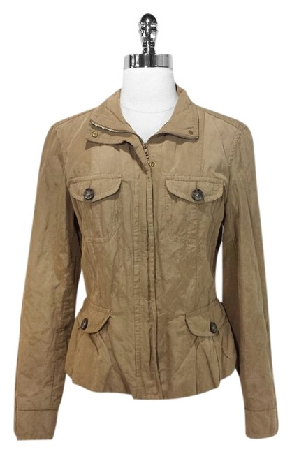 Preload https://item4.tradesy.com/images/max-mara-khaki-zip-and-button-crinkle-size-10-m-1359738-0-0.jpg?width=400&height=650