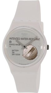 Swatch Swatch GW170 Unisex Yrettab White Analog Watch