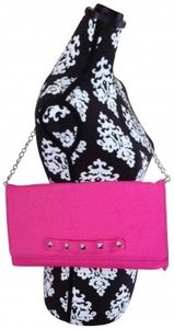 Betsey Johnson pink Clutch