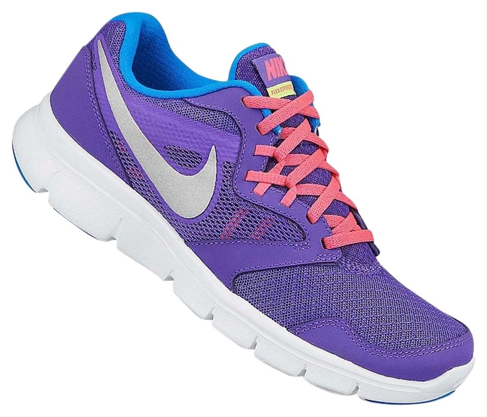 promo code 2751a dc0c8 Nike Purple Youth 6y Flex Experience 3 Sneakers