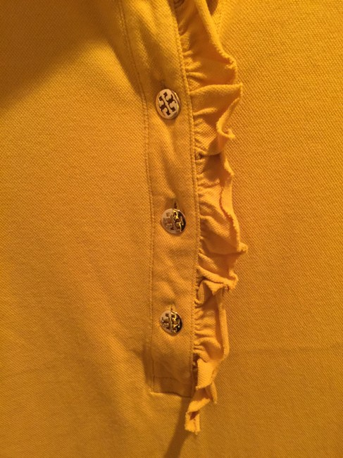 Tory Burch Shirt Size L Button Down Shirt Mustard Image 8