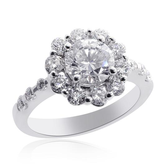 Preload https://img-static.tradesy.com/item/13597942/avital-and-co-jewelry-g-si1-enhanced-feather-filled-223-carat-natural-round-diamond-halo-18k-wg-enga-0-0-540-540.jpg