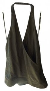 New York & Company Olive Halter Top