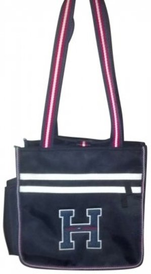 Preload https://img-static.tradesy.com/item/135987/tommy-hilfiger-black-red-and-white-tote-0-0-540-540.jpg