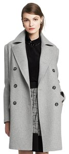 Gap Wool Coat Winter Warm Light Gray Jacket
