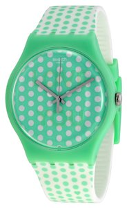 Swatch Swatch SUOG108 Women's Mint Love Green Analog Watch