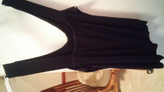 Forever 21 Top Black (Silver) Image 2