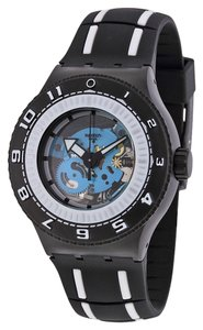 Swatch Swatch SUUB101 Men's Feel the Sea Black Analog Watch