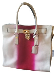 Michael Kors Tote in white/pink