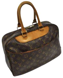 Louis Vuitton Satchel in Brown Tan Beige