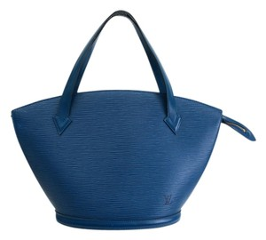 Louis Vuitton Shopping Lv Tote in Blue