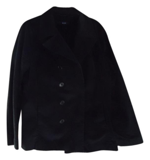 Preload https://img-static.tradesy.com/item/1360052/gap-black-light-weight-pea-coat-spring-jacket-size-16-xl-plus-0x-0-0-650-650.jpg