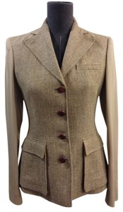 Ralph Lauren Black Label Tweed Brown Blazer