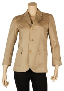 Polo Ralph Lauren Elatane Blazer Top Tan