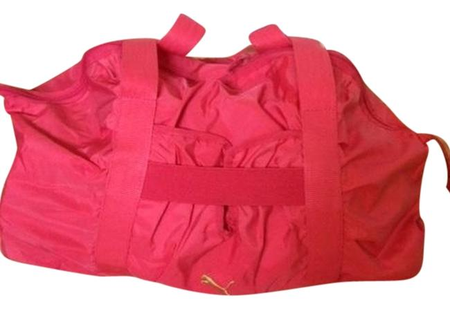 Item - Pink Nylon Weekend/Travel Bag