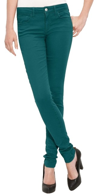 Item - JOE'S JEANS The Skinny Chelsea Deep Teal Ultra Stretch Skinny Jeans