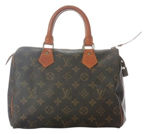 Louis Vuitton Brown Lv Monogram Lv.j0102.06 Satchel