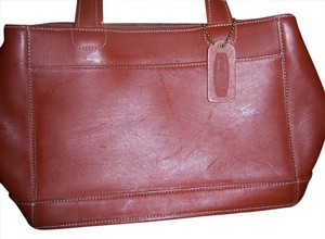 Other Leather Tote in Saddle brown