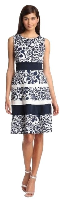 Anne Klein short dress Chalck/Navy on Tradesy