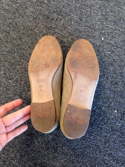 Gucci Tan Flats