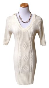 Body Central short dress Ivory on Tradesy