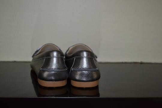 Coach Warm Pewter Flats