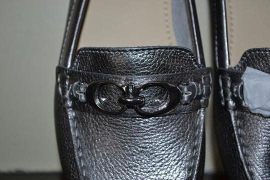 Coach Pewter Flats