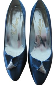 Frank Cardon Vintage navy blue Pumps