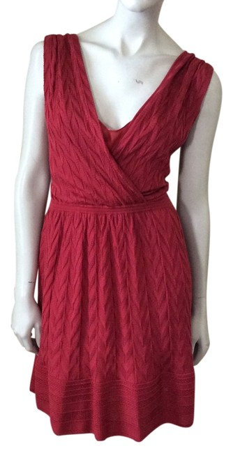 Preload https://img-static.tradesy.com/item/13606660/missoni-red-knit-above-knee-cocktail-dress-size-4-s-0-1-650-650.jpg