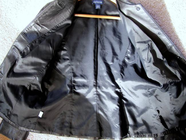 Ann Taylor Blazer Leather Jacket