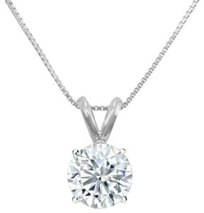 Other 0.55 carats Diamond Pendant with 14k white gold chain.