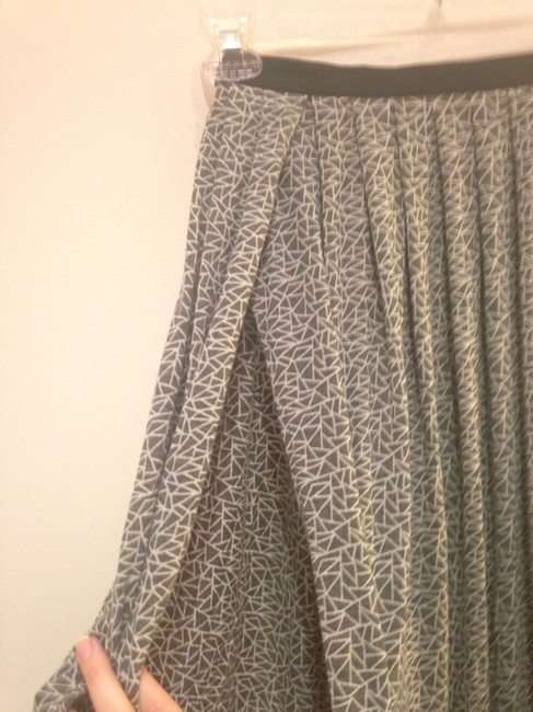 Silence + Noise Skirt Grey