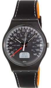 Swatch Swatch SUOB117 Unisex Brake Black Analog Watch