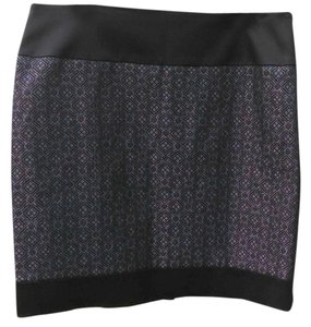 Antonio Melani Skirt black and silver