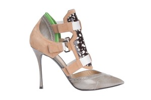 Nicholas Kirkwood Womens Gray Pumps