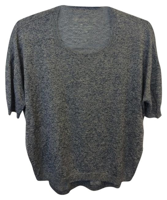 Preload https://img-static.tradesy.com/item/1360846/firth-gray-and-blue-blouse-size-8-m-0-0-650-650.jpg