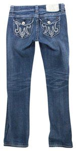 MEK DNM Oaxaca Slim Fit Boot Cut Jeans-Distressed