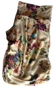 Other Shorts Yellow Floral