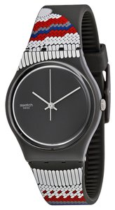 Swatch Swatch GM183 Men's Gornegrat Black Analog Watch