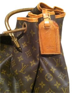 Louis Vuitton LV initial dark brown Travel Bag