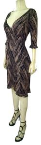 A.B.S. by Allen Schwartz Wrap Around Size Small Dress