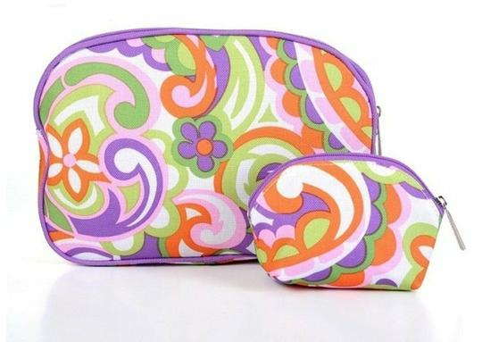 Clinique ** NWT ** Clinique Foral Cosmetic Bag Image 1